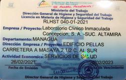 Licencia en Higiene y Seguridad