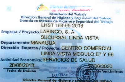 Licencia Linda Vista HYST frontal.png