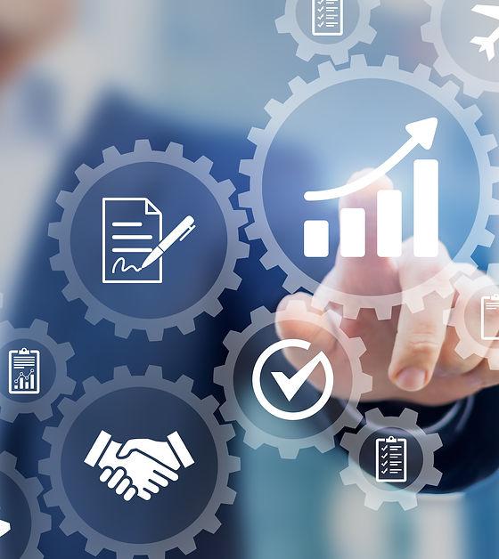 Business robotic process automation conc