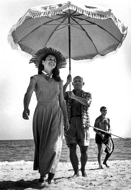 16)Expozice_Picasso II_Picasso na pláži