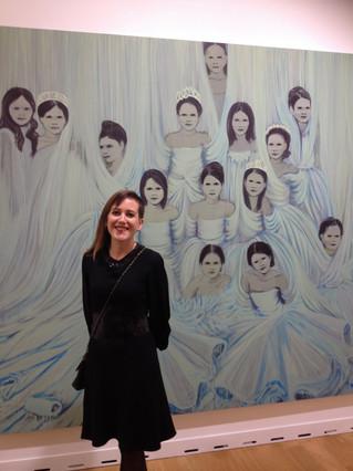Claire Tabouret à la FIAC 2014