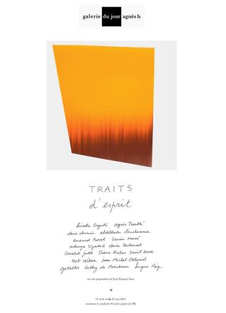 """Claire Chesnier et Claire Tabouret : Exposition """"Traits d'esprit"""" - Galerie du jour ag"""