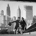 Hand in hand, Brooklyn Bridge - Norman Parkinson
