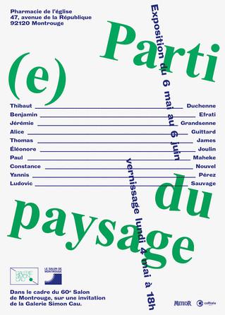 """""""Parti(e) du paysage"""" : Exposition de Constance Nouvel, lauréate 2014 du Prix Yishu 8 Fran"""