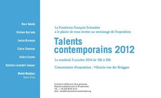 """Claire Chesnier -  Exposition """"Talents Contemporains 2012"""""""