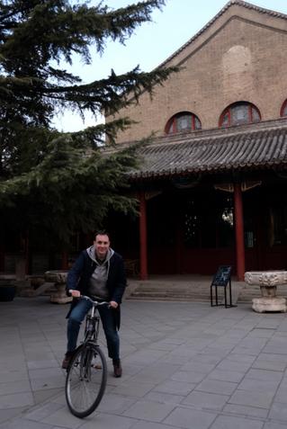 Prix YISHU 8 France 2018 : Guillaume Talbi commence sa résidence à Yishu 8
