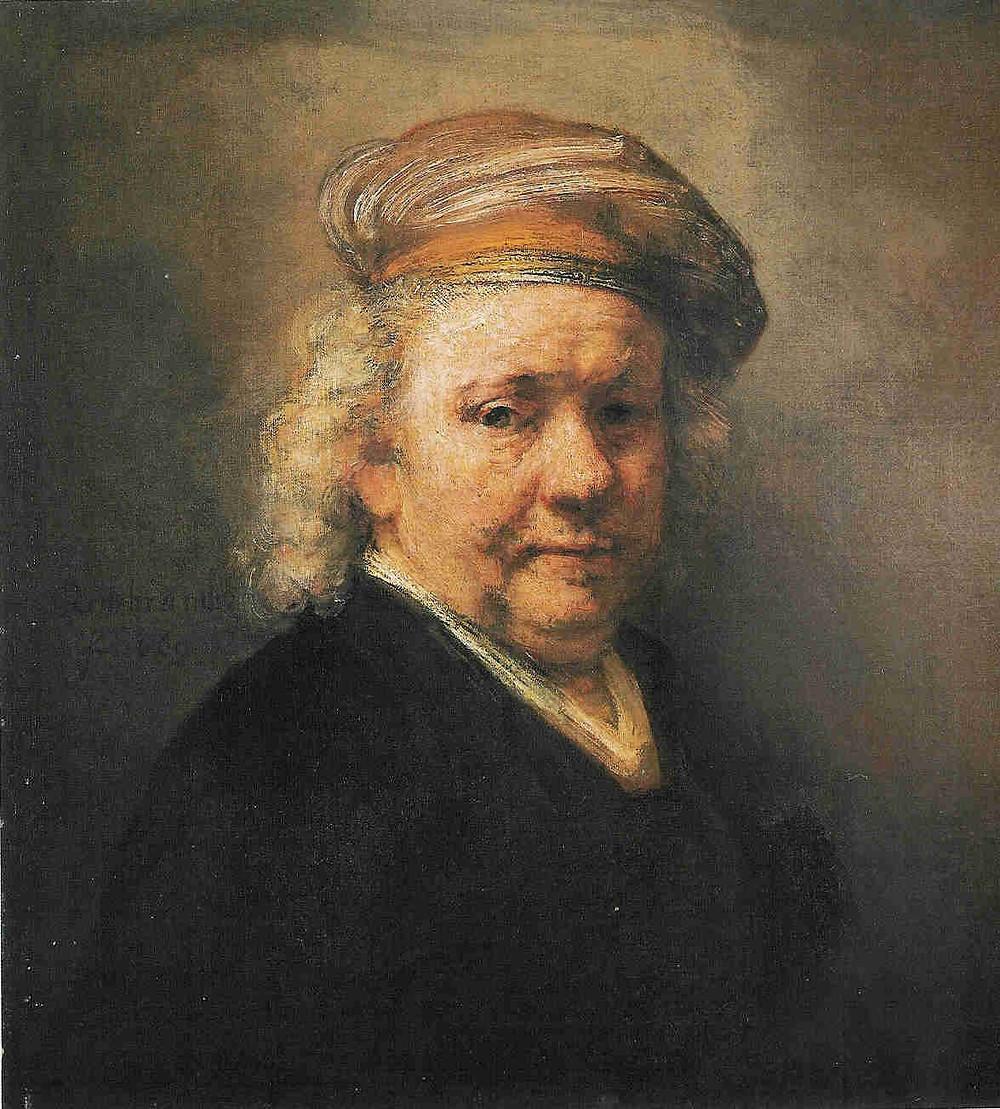 Autoportrait à 63 ans - Rembrandt