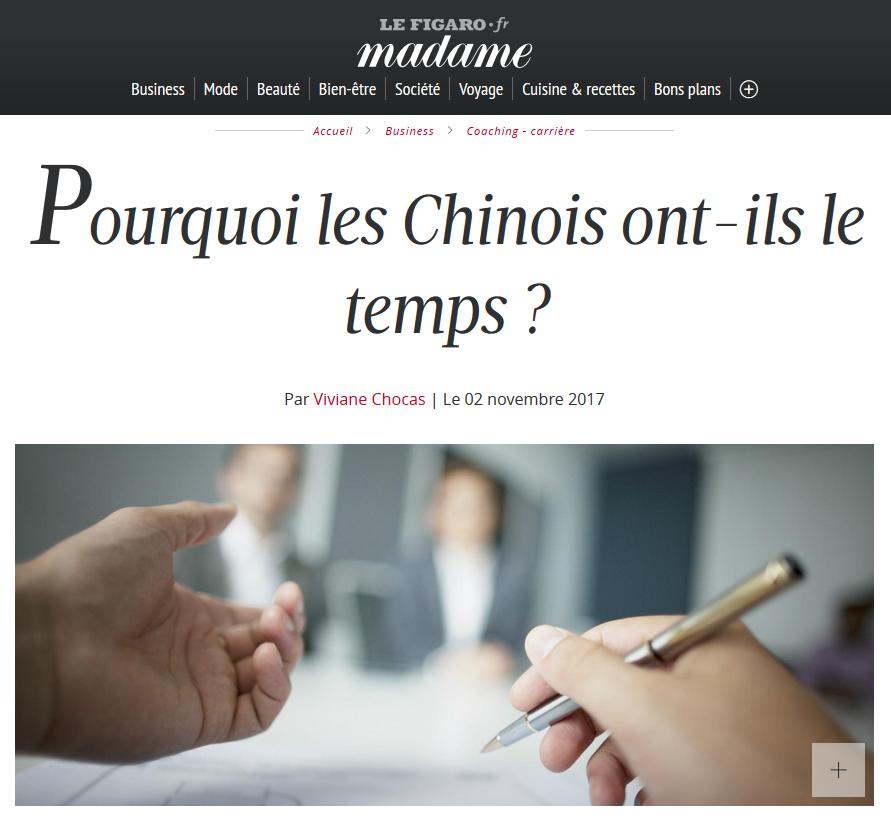 Le Figaro Madame - 02 novembre 2017