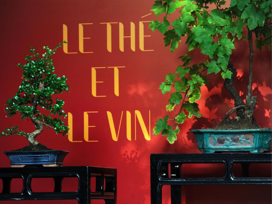 Le thé et le Vin...