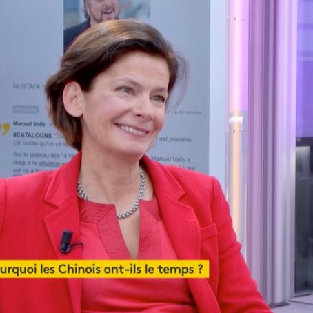 """FRANCE INFO TV : Christine Cayol """"Les chinois sont des jongleurs de temps"""""""