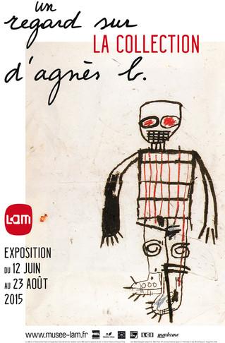 """""""Un regard sur la collection d'agnès b."""",  exposition collective avec Claire Chesnier"""