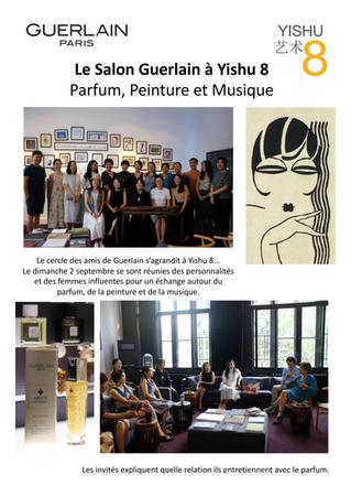 Une rencontre philanthropique au Salon Guerlain d'Yishu 8