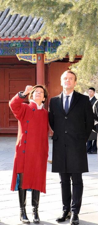 Actuellement en visite officielle en Chine, le Président Emmanuel Macron est allé à la découverte de