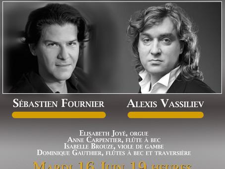 Purcell, Schütz, Haendel... par Sébastien Fournier