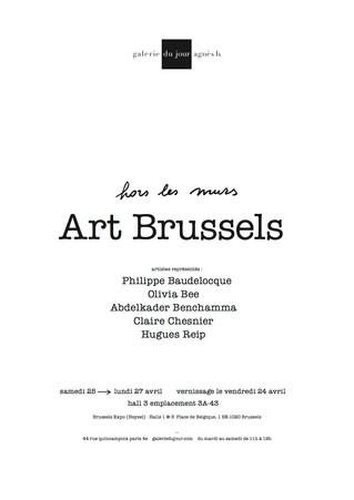 Claire Chesnier : Hors les murs à ART BRUSSELS