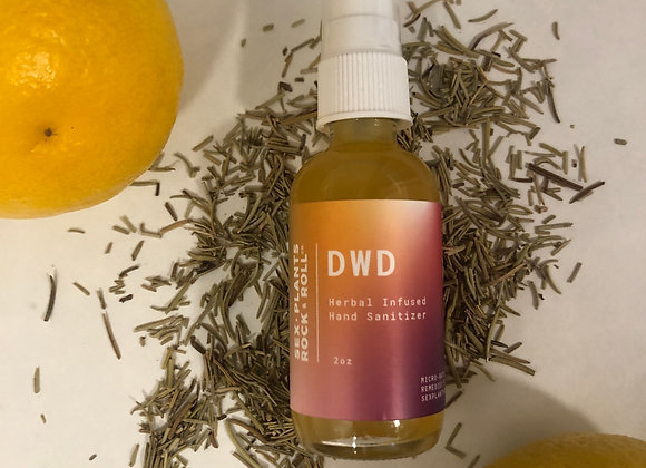 DWD - Herbal-Infused Hand Sanitizer