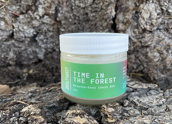 Time in the Forest - Breathe Easy Chest Rub