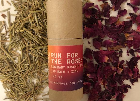 Run for the Roses - Lip Balm + Mineral Sun Shield