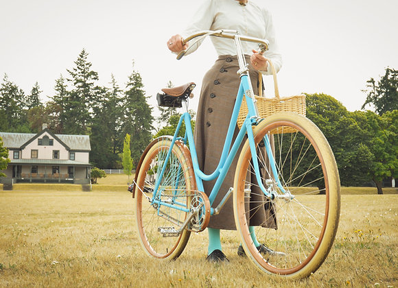 Custom 1890s-style Women's Bicycle