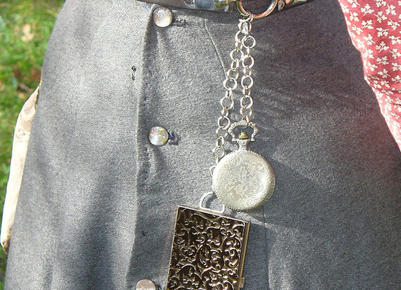 Calling Card Case for Chatelaine Belt