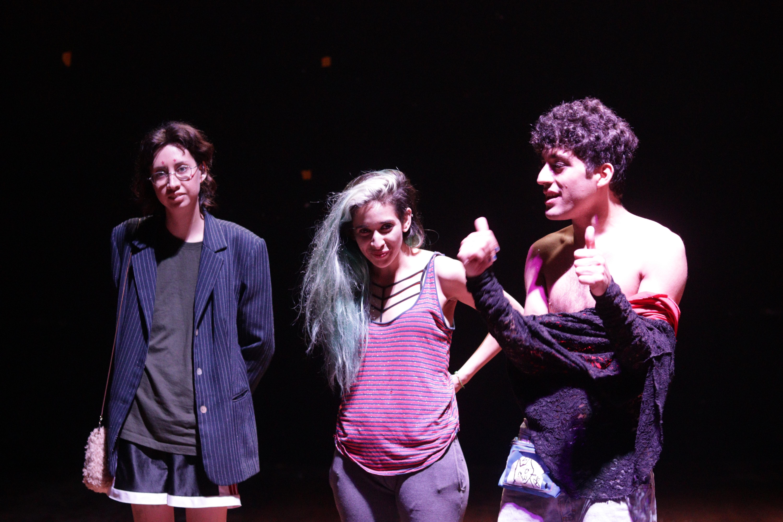 Andrea, Pome y Vena Rota en el cierre de #AQR