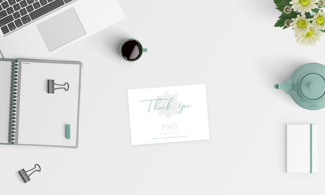 PNG Portraits Thank You Card