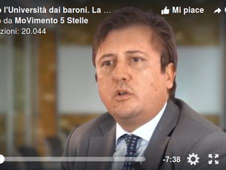 Università e baroni: ecco come avvengono certe selezioni, video e intervista Pierpaolo Sileri