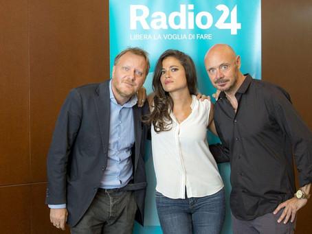 Intervista di Giulia Romano e Giuliano Grüner a Radio24