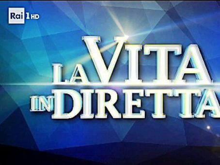 """Anna Maria Monteverdi ospite a """"La vita in diretta"""" (Rai uno) a parlare del suo caso"""