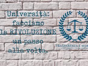 Osservatorio si scioglie, TRA-ME raddoppia: Università, facciamo la rivoluzione un passo alla volta.