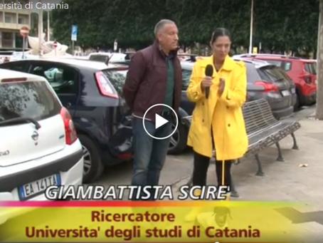 Giambattista Scirè intervistato a Striscia La Notizia