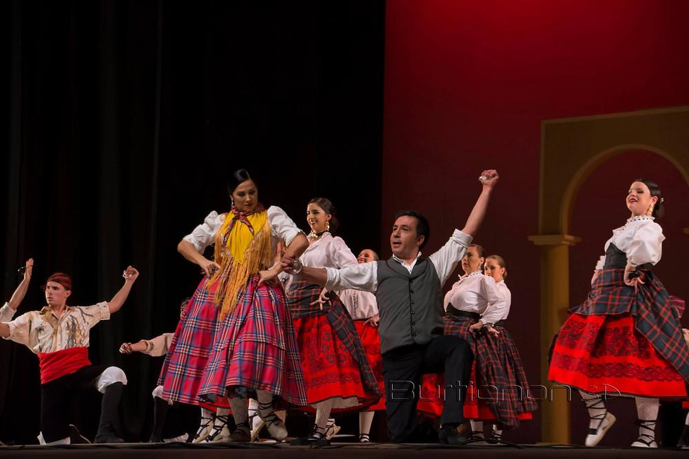 Participação do dançarino espanhol Jamon Artigas Hernando