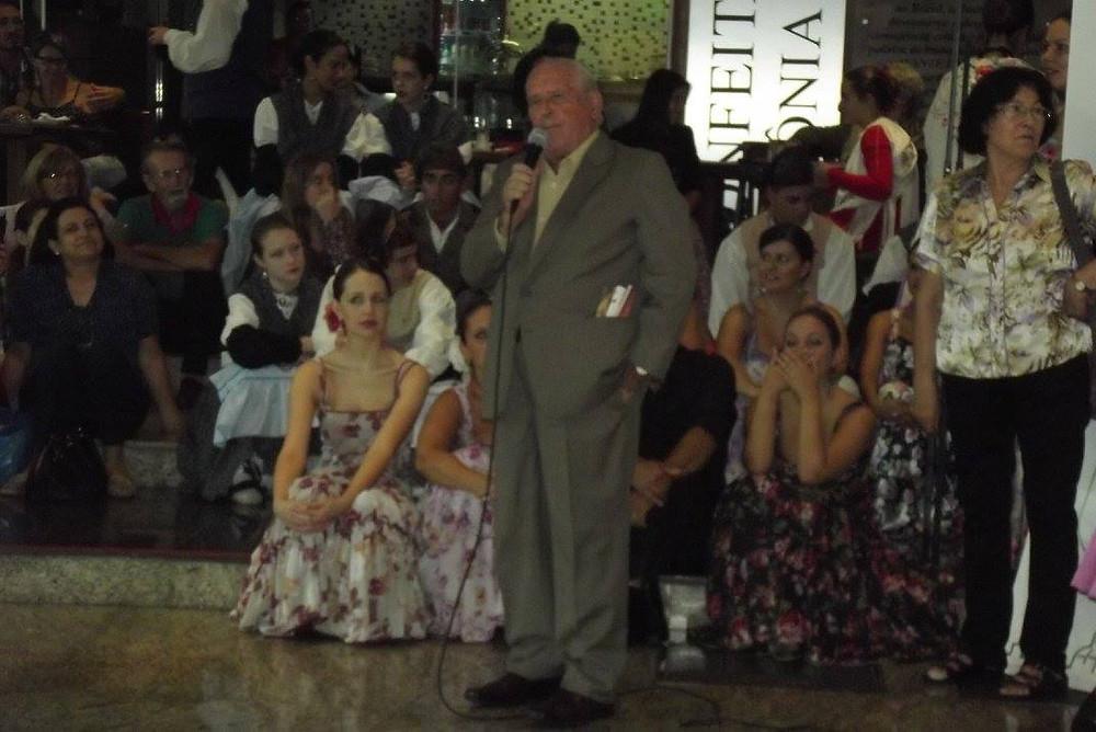 Cônsul Honorário da Espanha em Curitiba Saturnino Hernando Gordo