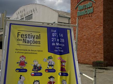 Festival das Nações - Danças Típicas e Oficinas Gastronômicas