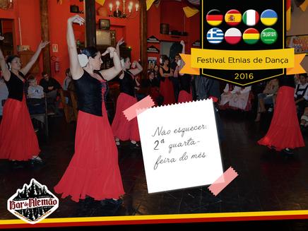 Festival Etnias de Dança no Bar do Alemão