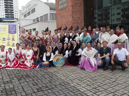Apresentação -  Festival das Nações 2015
