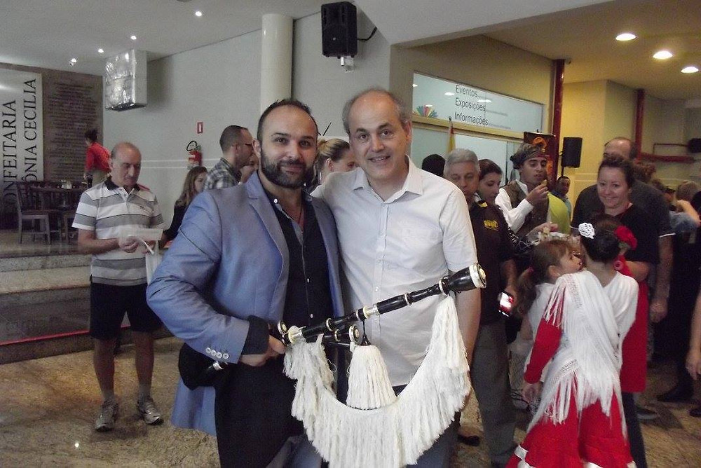 prefeito de curitiba gustavo freut e  xulio lorenzo