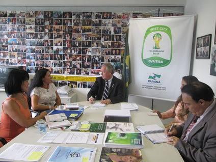 O Estado da Copa Delegação da Espanha terá recepção especial em Curitiba Copa 2014