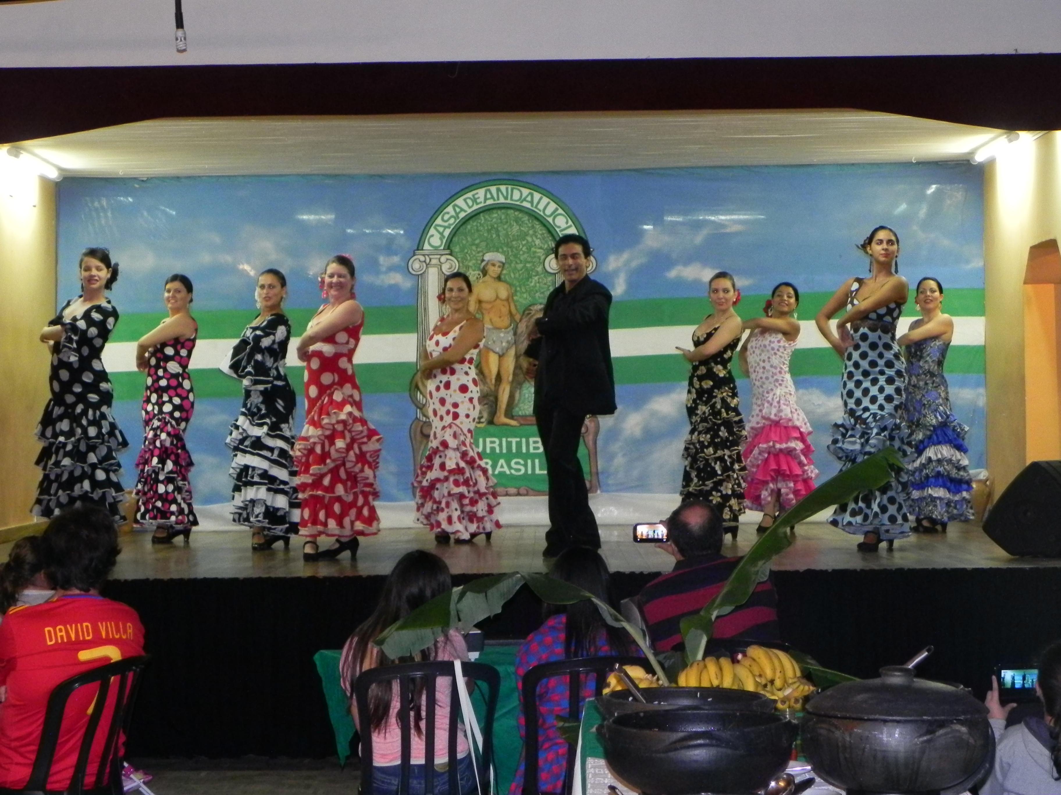 Dia de Andalucia - Flamenco