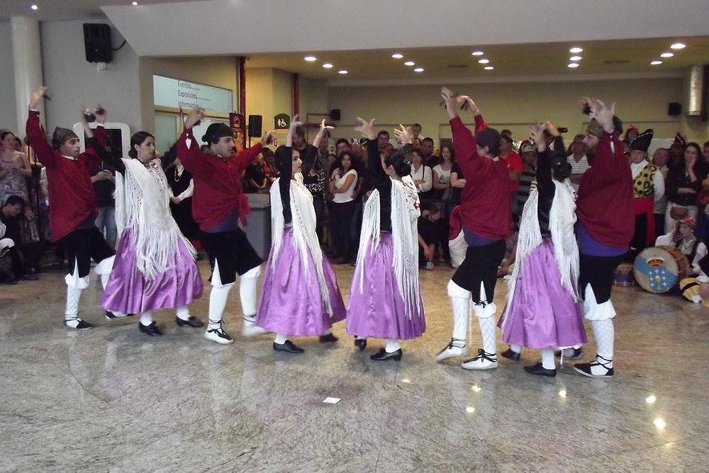 grupo de dança aragoneza