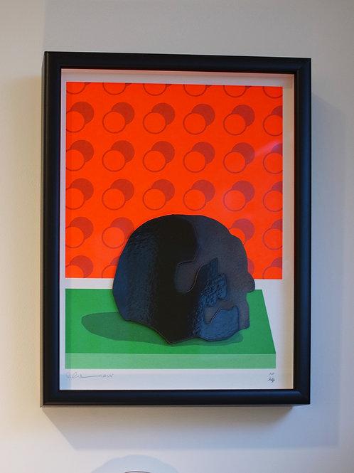 Abstract Skull - Artist Proof