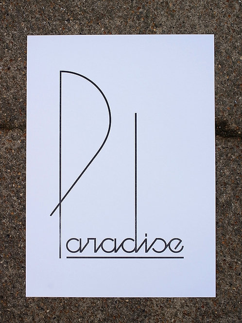 Paradise - AP Woodblock
