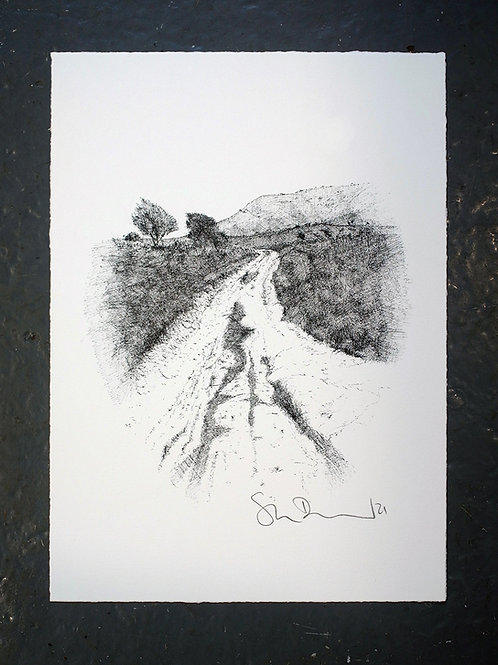 Past Balmer Down (Print)