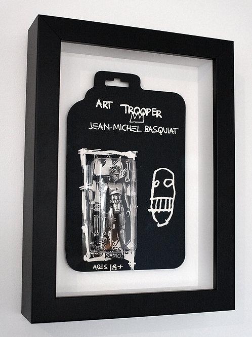 Basquiat Art Trooper (Framed)