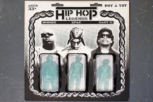 Hip Hop Legends - Three pack (Clear Blue)