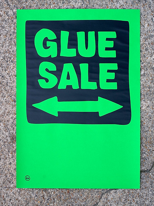 Glue Sale-Low fi-Green