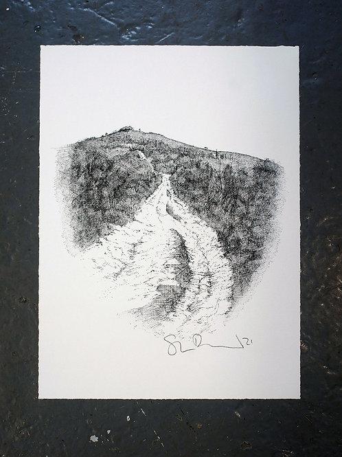 Up to Kingston Ridge (Print)