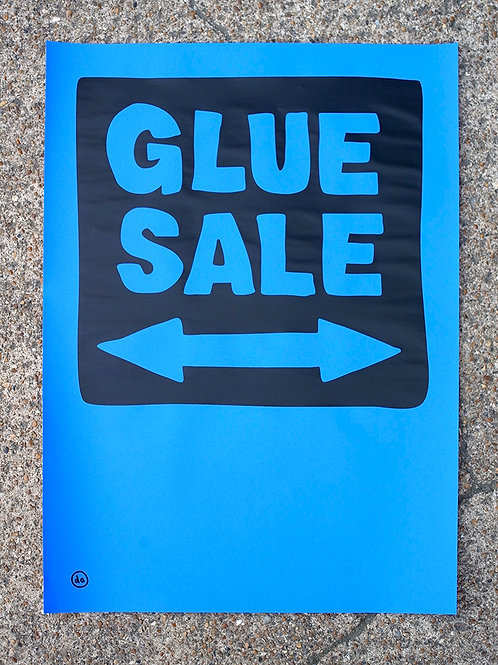 Glue Sale-Low fi-Blue