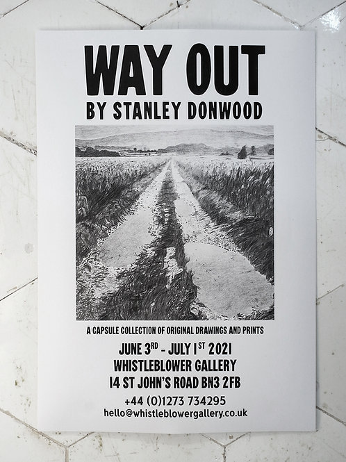 WAY OUT - Exhibitionposter