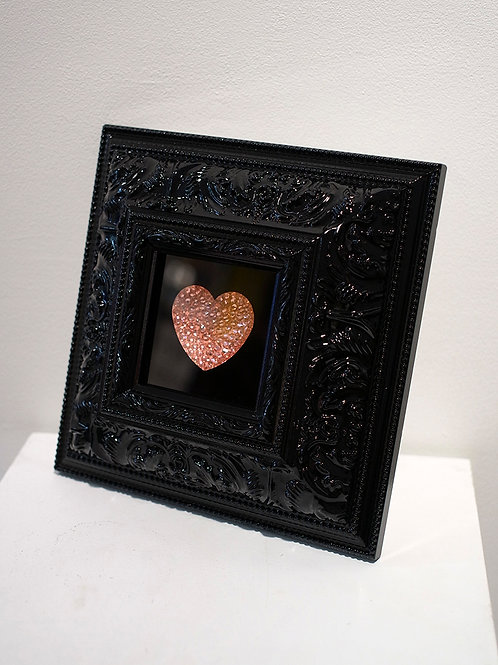 Delux Pink Crystal Heart